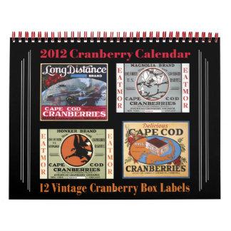 2012 Cranberry Calendar