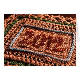 2012 Crochet Birthday Card