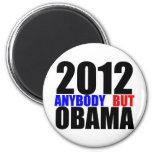 2012: Cualquiera pero Obama Imán De Frigorifico