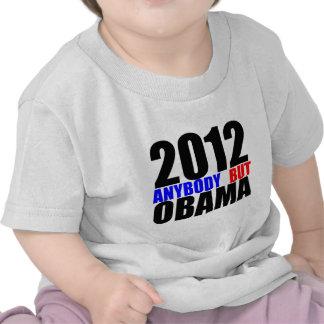 2012: Cualquiera pero Obama Camisetas