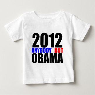2012: Cualquiera pero Obama Playera Para Bebé