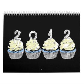 2012 cupcake calendar