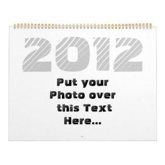 2012 Customizable Calendar