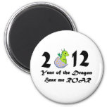 2012 Cute Baby Dragon 2 Inch Round Magnet