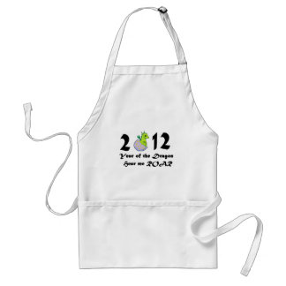 2012 Cute Baby Dragon Adult Apron