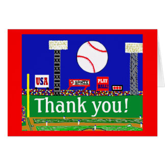 2012 Cute Kids Sports Thank You Notes Gift
