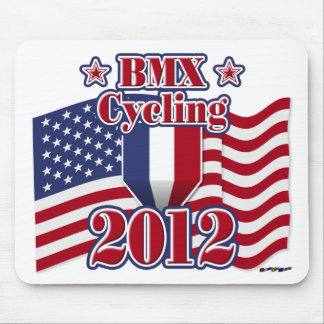 2012 Cycling BMX Mousepads