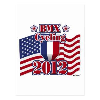 2012 Cycling BMX Postcard