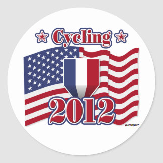 2012 Cycling Classic Round Sticker