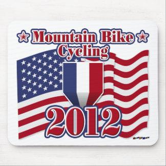 2012 Cycling Mountain Bike Mousepads