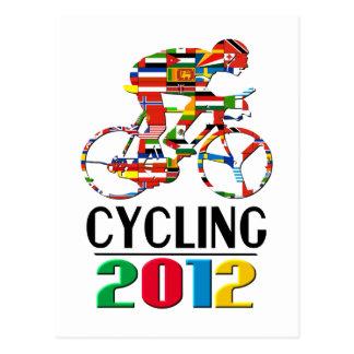 2012: Cycling Postcard