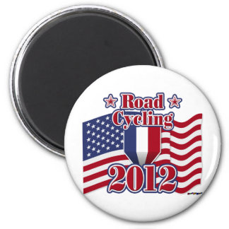 2012 Cycling Road Magnet