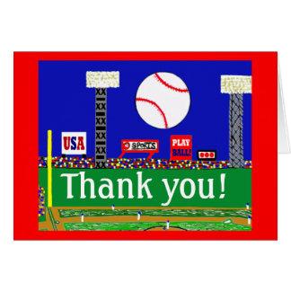 2012 deportes lindos de los niños le agradecen tarjeta pequeña