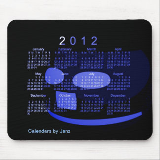 2012 Desk Calendar Mouse Pad