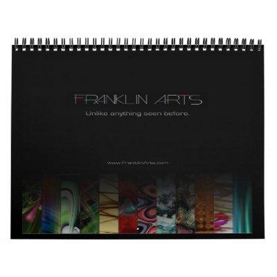 2012 Digital Abstract Art Calendar