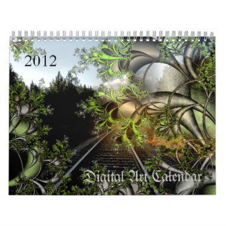 2012 Digital Art calendar