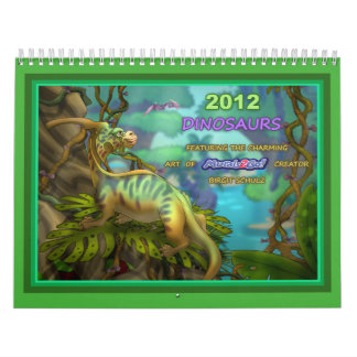2012 Dinosaurs Calendar