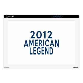 2012 diseños del cumpleaños de la leyenda del portátil 43,2cm skin