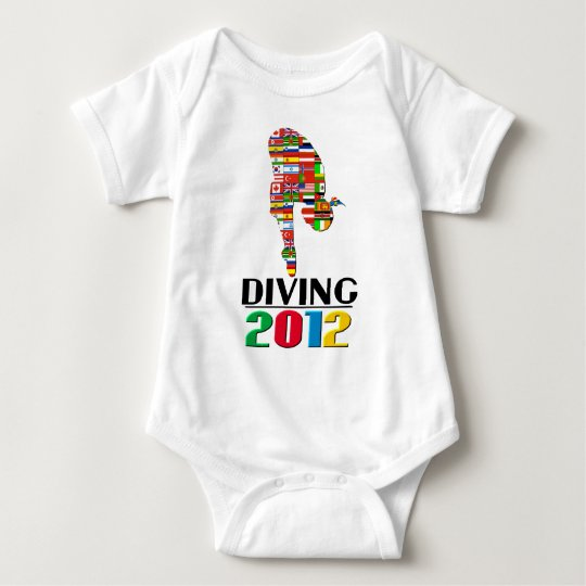 2012: Diving Baby Bodysuit