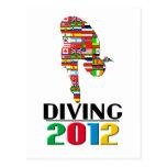 2012: Diving Postcard