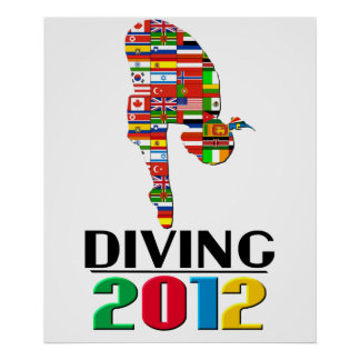 2012 Diving Posters