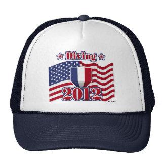 2012 Diving Trucker Hat