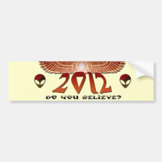 2012, Do You Believe* Bumper Sticker