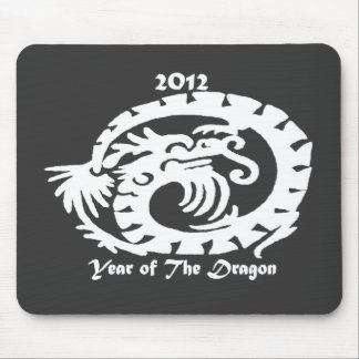 2012 Dragon Celebrating Chinese New Year Mouse Pad