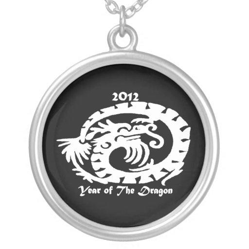 2012 Dragon Celebrating Chinese New Year Necklace