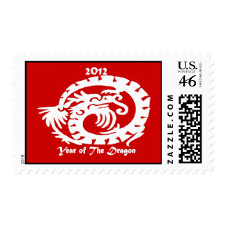 2012 Dragon Celebrating Chinese New Year Postage