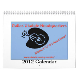 2012 DUH calendar