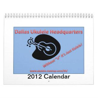 2012 DUH calendarios