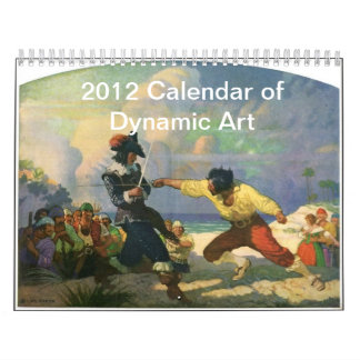 2012 Dynamic Art Calendar