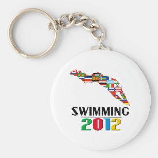2012: El nadar Llavero Personalizado