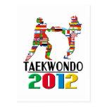 2012: El Taekwondo Tarjeta Postal