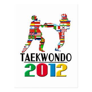 2012 El Taekwondo Tarjetas Postales