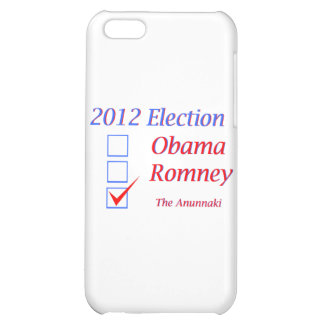2012 Election Obama Romney Anunnaki iPhone 5C Cover