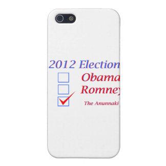 2012 Election Obama Romney Anunnaki iPhone 5 Cases