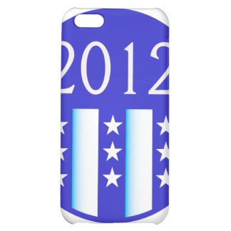 2012 election round seal blue version iPhone 5C cover