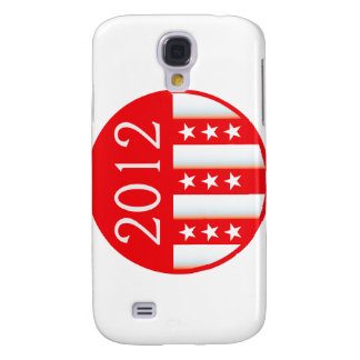 2012 election round seal red version samsung galaxy s4 case