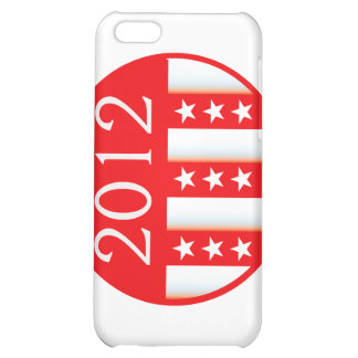 2012 election round seal red version case for iPhone 5C