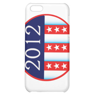 2012 election seal red and blue vote voting iPhone 5C cases