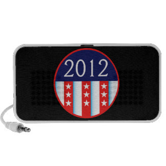 2012 election seal red and blue vote voting notebook speaker