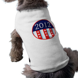 2012 election seal red and blue vote voting T-Shirt