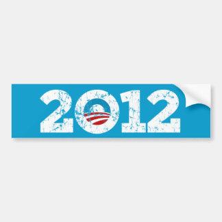 2012 eligen a Barack Obama Pegatina Para Auto