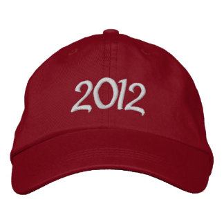 2012 Embroidered Cap Embroidered Hats