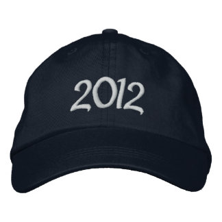 2012 Embroidered Cap Embroidered Baseball Caps