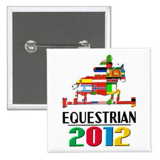 2012: Equestrian Button