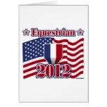 2012 Equestrian Card