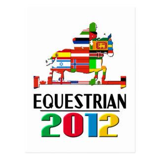 2012: Equestrian Postcard